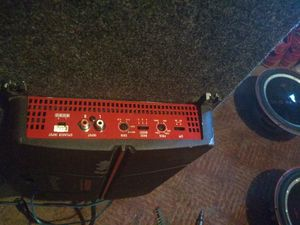 Pair of Rockford p2 Punch's in box 1000 watt pioneer amp along with all the wiring for Sale in Merrill, WI
