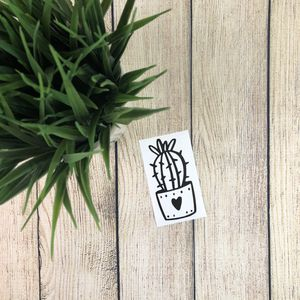 Cute Cactus Decal for Sale in Gilbert, AZ