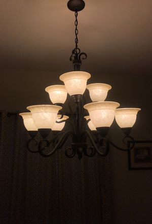 Formal dining chandelier for Sale in Roanoke, TX
