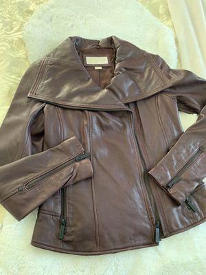 Leather jacket Michael Kors for Sale in Denver, CO