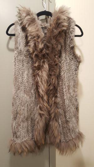 Rex Rabbit Fur Vest - Size M for Sale for sale  New York, NY