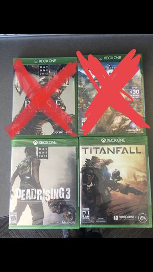 Xbox One games (2 left) for Sale in Seattle, WA