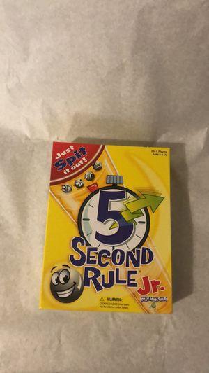 5 Second Rule Jr for Sale in Houston, TX