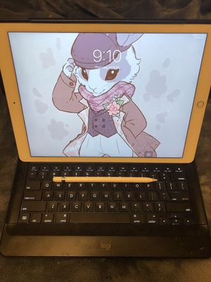 iPad Pro, keyboard case and Apple Pencil for Sale in Evansville, IN