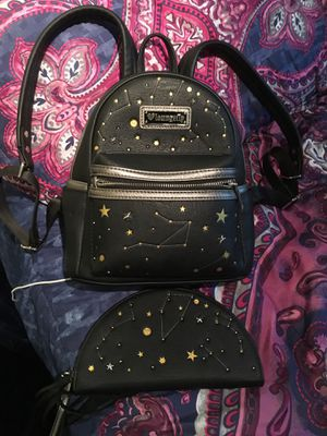 Loungefly Black Backpack Purse & Wallet for Sale in Westminster, CO