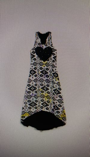 Sequin Heart Maxi Dress by Flowers by Zoe - Dress for the girl 6 - 8 years old for Sale in Chicago, IL
