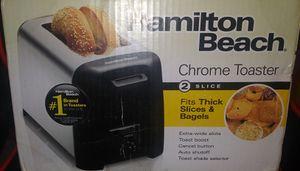 Hamilton beach chrome toaster for Sale in Jonesboro, AR