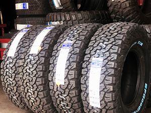 285/75R16 BFGoodRich ko2 all terrain tires (4 for $800) for Sale in Whittier, CA