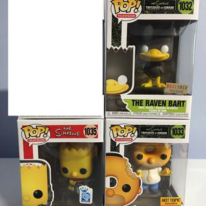 The Simpsons Funko Pops Exclusive for Sale in Los Angeles, CA