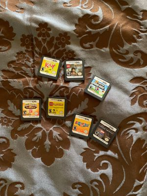 Nintendo DS/3DS bag and Games for Sale in Chevy Chase, MD
