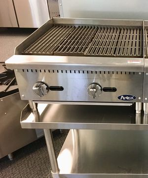 "Business equipment for sale, 24"" commercial gas countertop char broiler grill for Sale in Kent, WA"