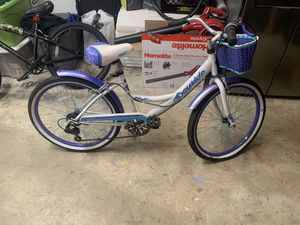 """Girls 24"""" beach cruiser bicycle for Sale in Middletown, NJ"""