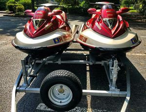 Twin 2OO2 Sea-D00 GTX 4-Tec_with_trailer_$1600 all! for Sale in Columbus, OH