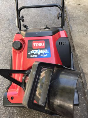 Toro ccr 2450 snowblower very good condition rtek engine for Sale in Downers Grove, IL