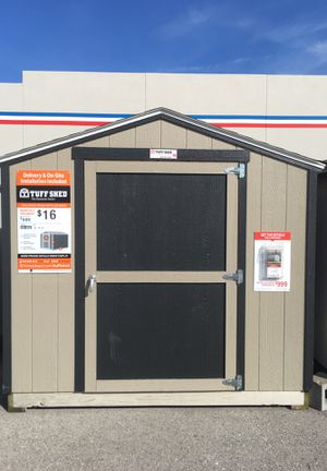 8x6 TUFF SHED $999 delivered or built on site for Sale in Fairview Heights, IL