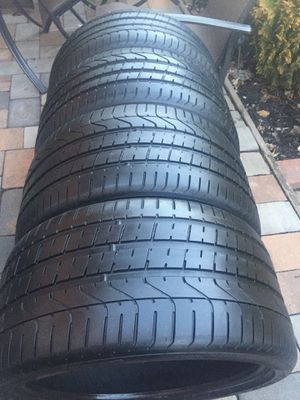 pirelli p zero 285 30 19 and 255 35 19 staggered tires set for Sale in Manassas, VA