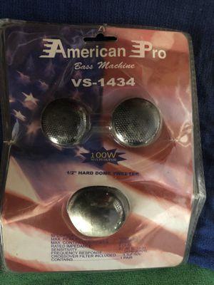 American Pro Tweeters Audio for Sale in North Tustin, CA