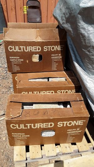 Cultured stone for exterior veneer application for Sale in Lakeside, AZ