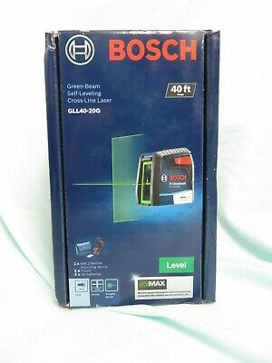 Bosch 40 ft. Self Leveling Cross Line Laser with VisiMax Green Beam for Sale in Stickney, IL