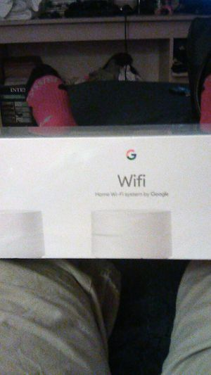 Home Wi-Fi system by google for Sale in Riverside, CA