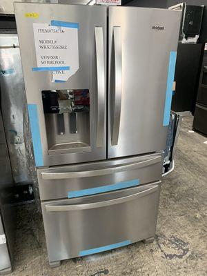 Whirlpool 4 door in stainless steel new open box for Sale in Downey, CA