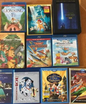 Disney Movies Blu-Ray + DVD for Sale in Hackensack, NJ