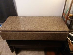 Marble top kitchen table set for Sale in Evansville, IN