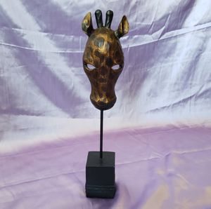 Resin Giraffe Mask Candle Holder for Sale in Anaheim, CA