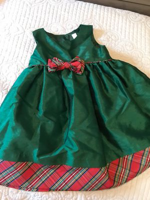 Christmas dress for girl. Size 3t for Sale in Orlando, FL