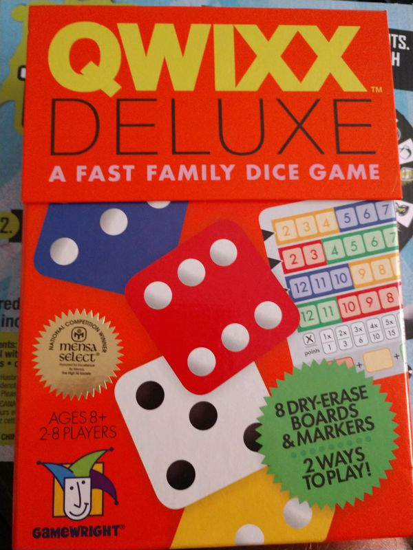 Qwixx deluxe board game