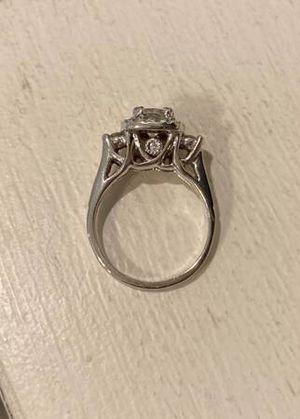 1.31 karat cushion cut diamond engagement ring for Sale in Hartford, CT