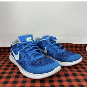 Womens NIKE FREE RN 2017 Gym Blue Running Trainers 880840 401 for Sale in Peoria, IL