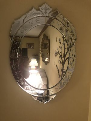 Beautiful Oval wall mirror $50 for Sale in Moon, PA