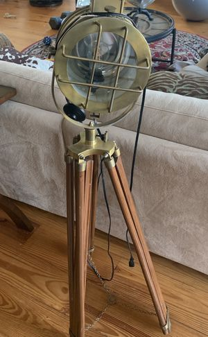 Antique naval lamp ( extremely hard find 😊) for Sale in Spicewood, TX