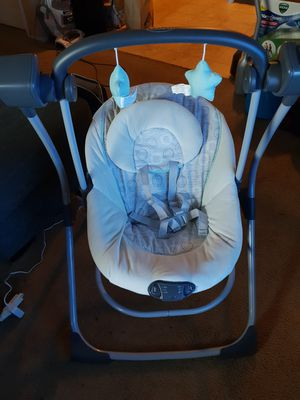 Graco Cozy Duet Swing for Sale in Highland, CA