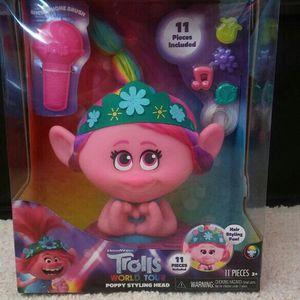 Trolls Poppy Styling Head for Sale in Santa Ana, CA