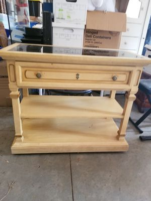 Buffet Cabinet. Vintage or Antique. Beautiful for Sale in Inman, SC