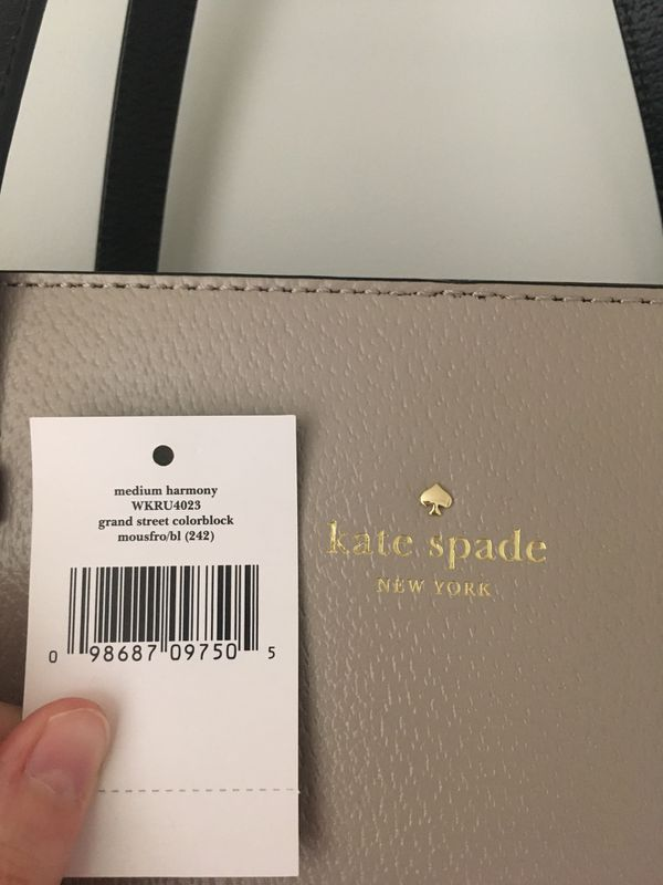Kate Spade—Grand Street Medium Harmony purse (like new)