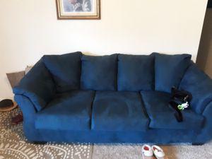 Blue sleeper sofa for Sale in Avon Park, FL