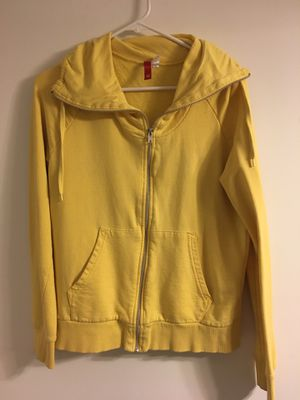 Yellow H&M Hoodie (12-L) for Sale in Seattle, WA