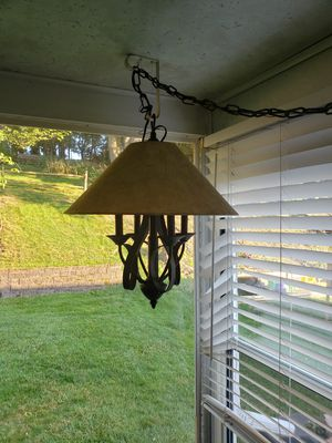 Lighting Fixture - Rubbed bronze for Sale in Bethel Park, PA