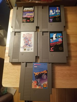 Nintendo NES Games Lot of 5 Tested and Working! for Sale in Chino Hills, CA