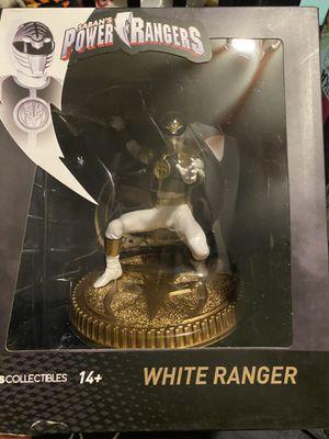 Mighty Morphin Power Rangers White Ranger Statue for Sale in Norwalk, CA