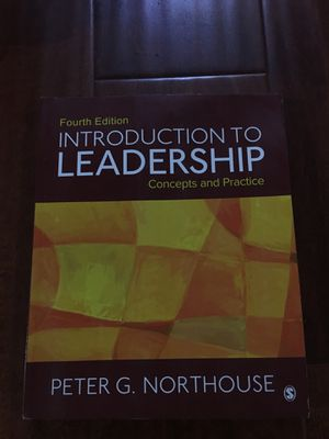Peter G. Northouse Introduction to Leadership: Concepts and Practice Fourth Edition ISBN-13: 978-1506330082, ISBN-10: 1506330088 for Sale in Industry, CA
