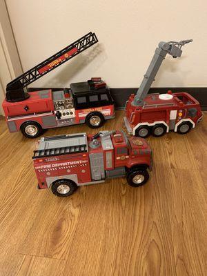 Tonka toy fire trucks for Sale in Seattle, WA