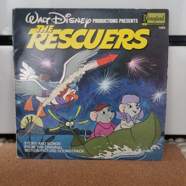 Walt Disney Quot The Rescuers Quot 1977 Soundtrack Vinyl For Sale