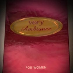 very Ambiance EDP Eau de Parfum French/France Perfume Spray 3.4 fl. oz AUTHENTICITY GUARANTEE HOLOGRAM SHOWING! NEW NIB for Sale in San Diego,  CA