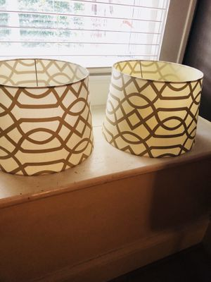 New lamp shades for Sale in Thomasville, NC