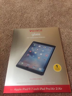 ZAGG HD SCREEN PROTECTOR IPAD9.7 for Sale in Phoenix, AZ