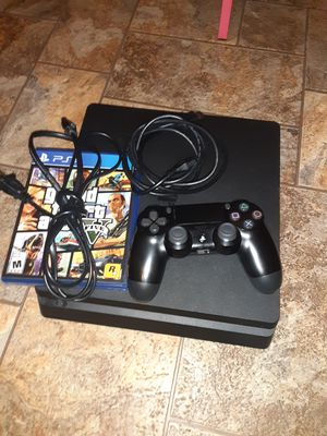 Playstation 4 slim 1tb with games for Sale in Phoenix, AZ